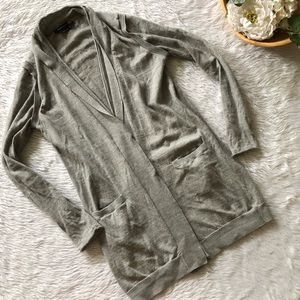 BCBGmaxazria Grey Cardigan